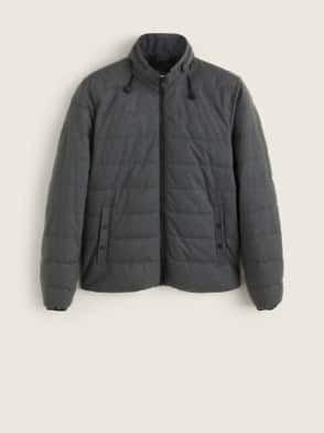 Kabátszezon - Rejtett kapucnis steppelt anorák