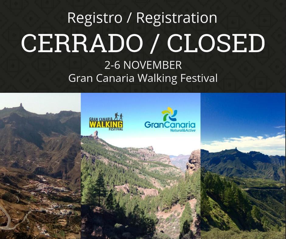 Arranca el Gran Canaria Walking Festival con las inscripciones agotadas