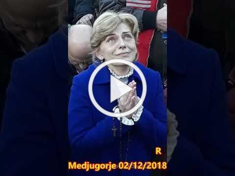 Medjugorje - Apparizione a Mirjana - 2 Dicembre 2018