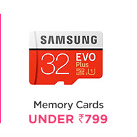Memory Cards under Rs.799