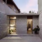 Casa da Vila Matilde, em São Paulo: arquitetura funcional em blocos de concreto aparente