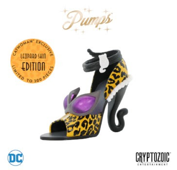 Cryptozoic Entertainment at New York Comic Con 2018 Leopard Catwoman (DC Pumps)