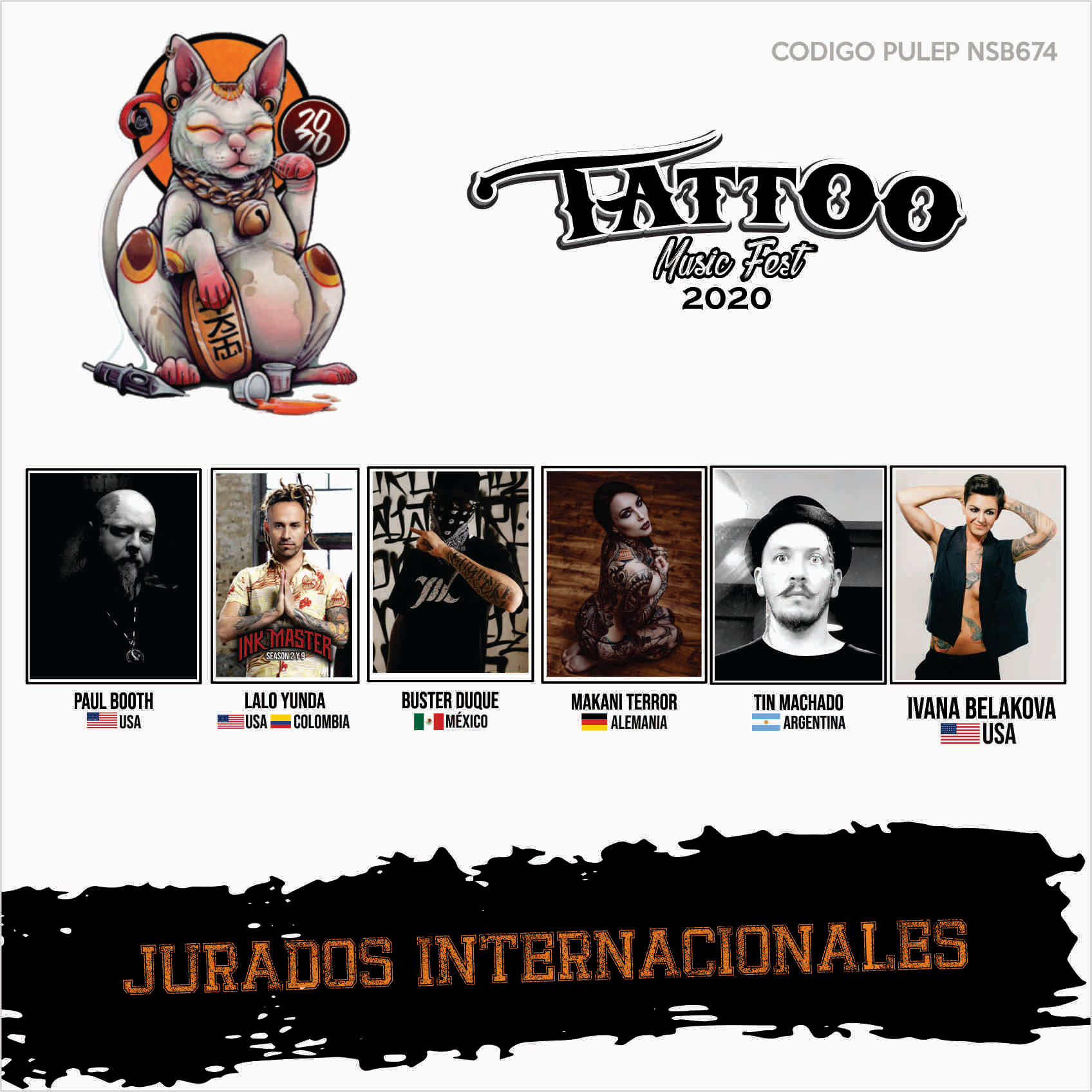 Tatto Music Fest 2020 bandas