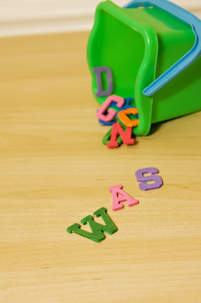Preschool Reading & Writing Activities: Create a Wooden Alphabet Set