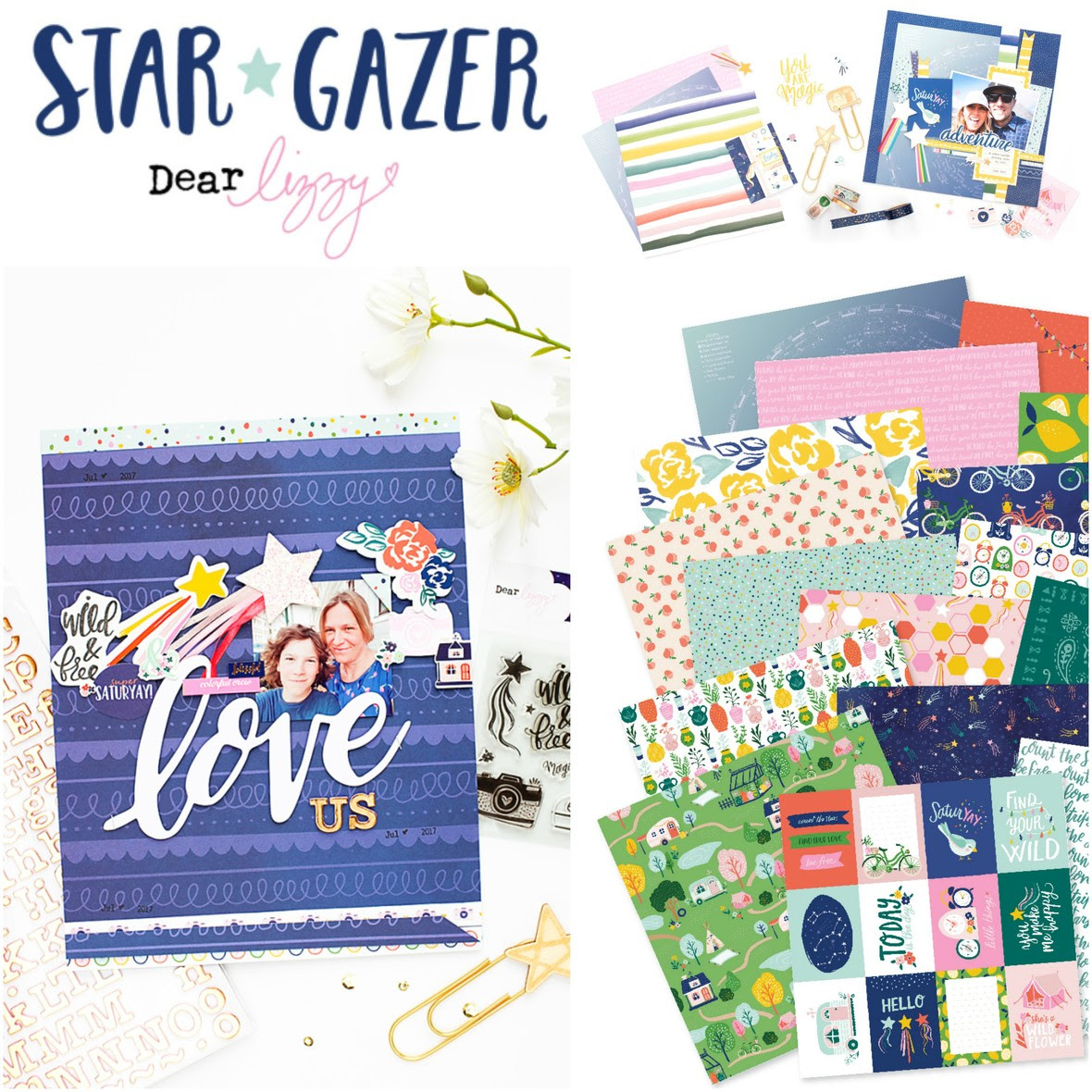 BeFunky Collage star gazer