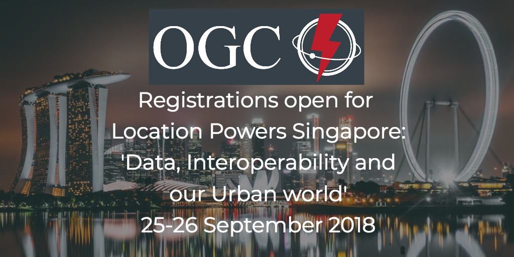 Location Powers Singapore Agenda Announced