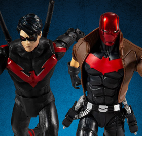 DC Multiverse Nightwing vs Red Hood Two-Pack