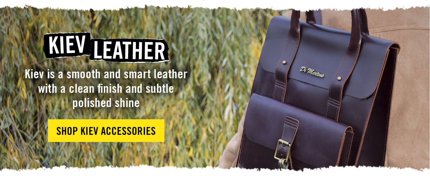 KIEV LEATHER - Kiev is a smooth and smart leather with a clean finish and subtle polished shine - SHOP KIEV ACCESSORIES