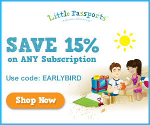 Little Passports Sale – Save 15% – Great Activity for Kids for Summer!