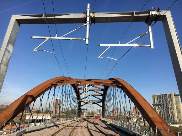 Old gives birth to the new as iconic railway bridge completes