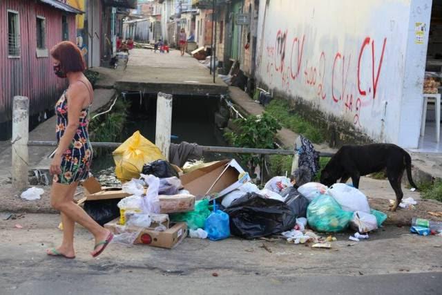 Bairro da Compensa em Manaus vive dias sangrentos
