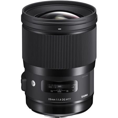 28mm f/1.4 DG HSM ART Lens for Canon EOS DSLR Cameras