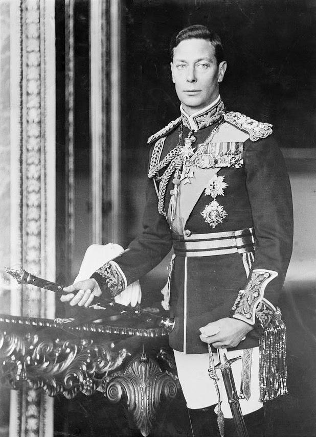 King George VI dies