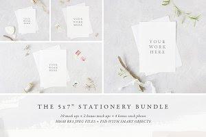 """The 5x7"""" stationery mock up BUNDLE"""