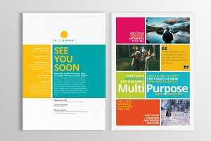 Multipurpose Print Newsletter