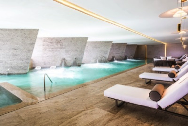 SE Spa at Grand Velas Los Cabos Zone Hydrotherapy