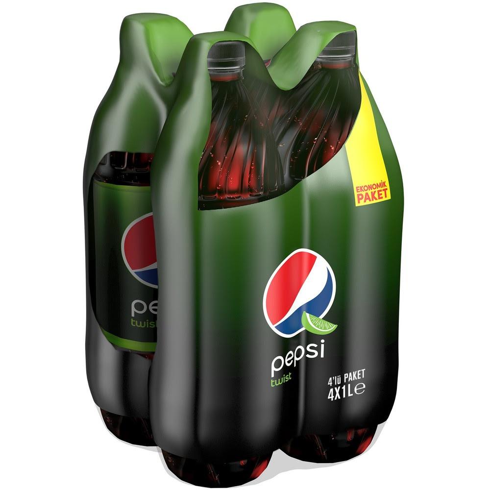 Pepsi Cola 4 x 1L Twist