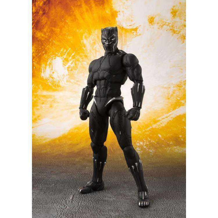 Image of Avengers: Infinity War S.H.Figuarts Black Panther & Tamashii Effect