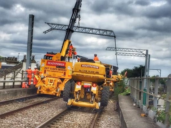 TfL Press Release - London Overground's Gospel Oak to Barking line to re-open as electrification of the line nears completion