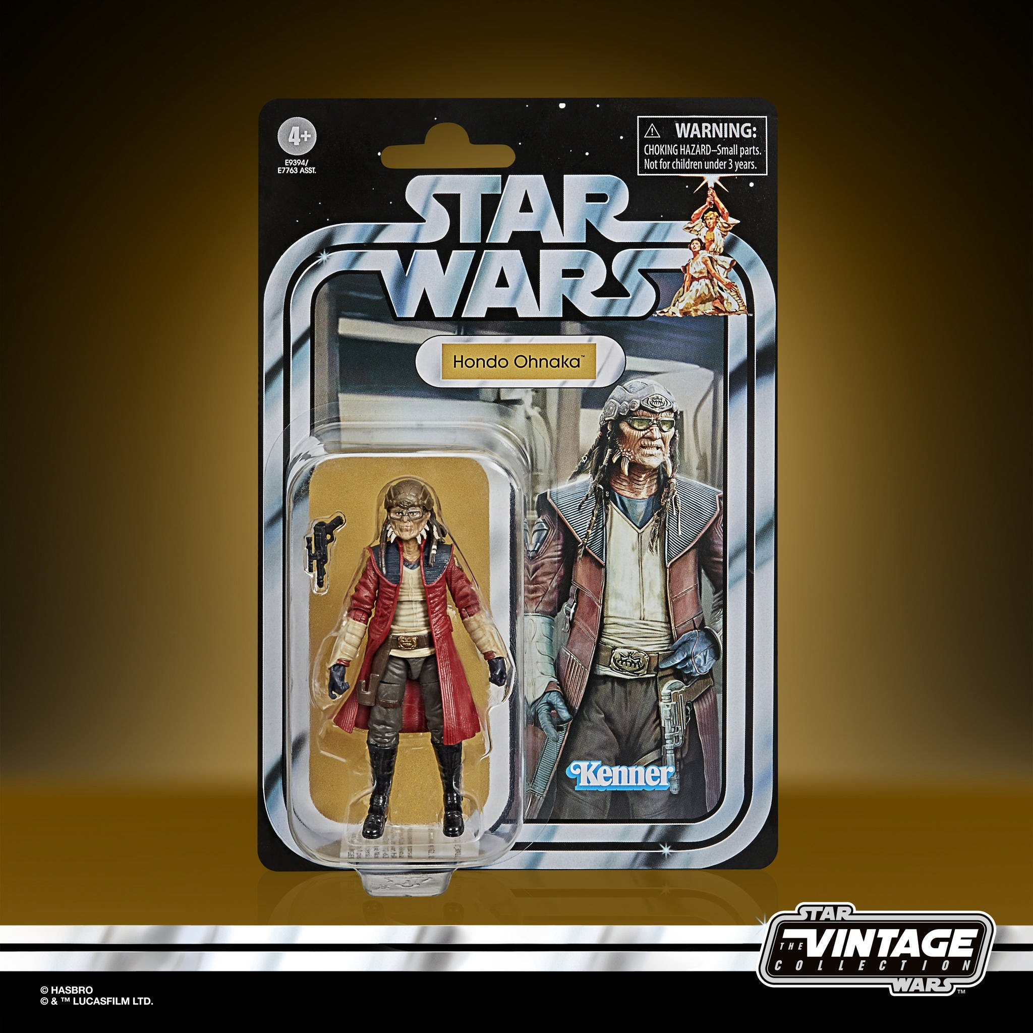 Image of Star Wars The Vintage Collection Hondo Ohnaka 3 3/4-Inch Action Figure - SEPTEMBER 2020