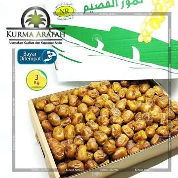 Kurma Sukari - Kurma Sukari Basah 3 Kg Premium