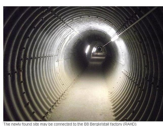 Descubren un gigantesco laboratorio secreto usado por los nazis para construir armas atómicas
