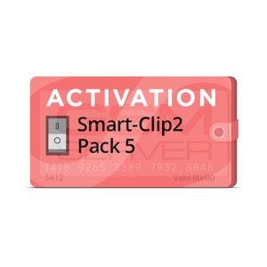 Smart-Clip2 Pack 5 Activation