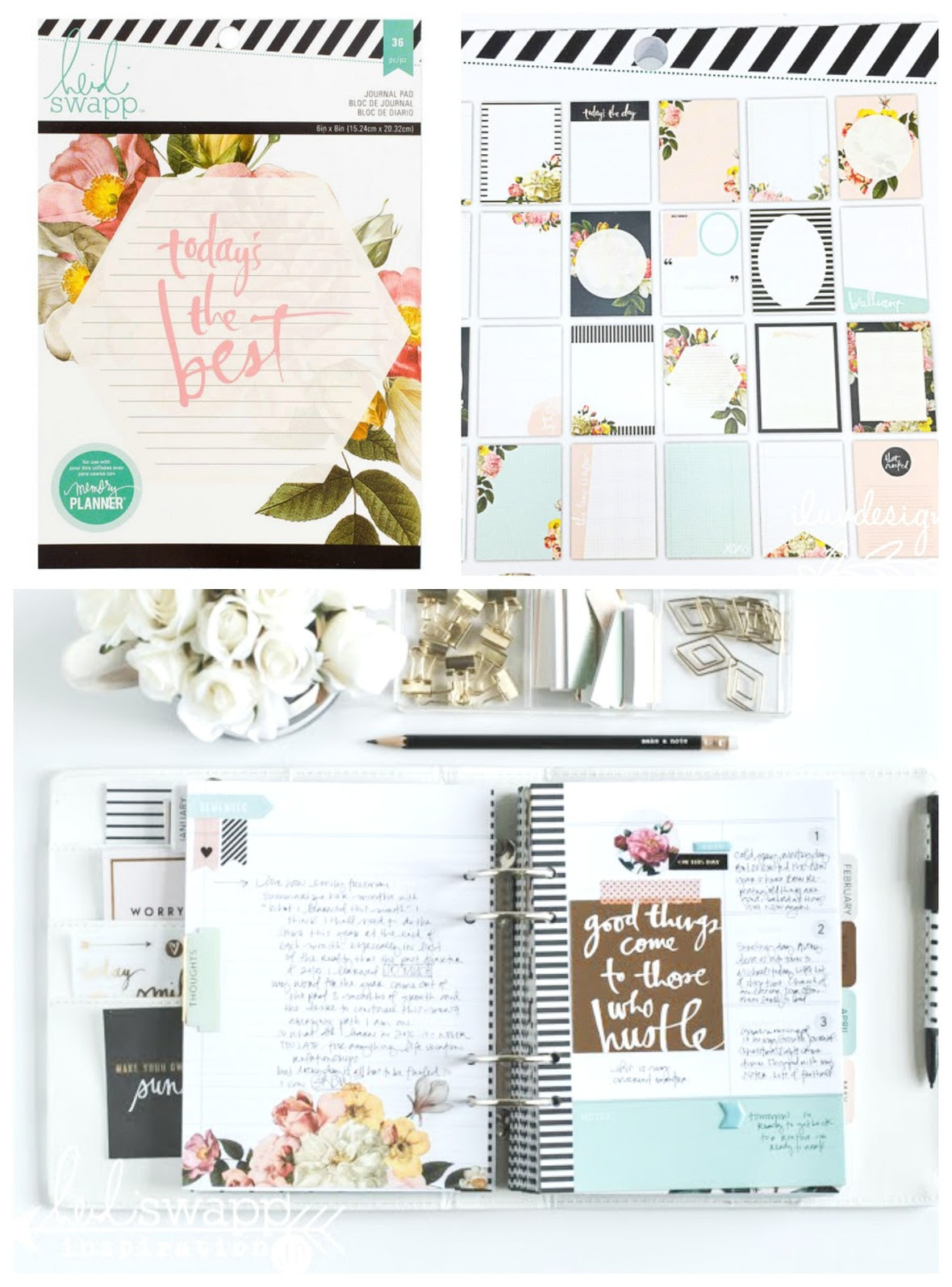 PicMonkey Collage planner pad