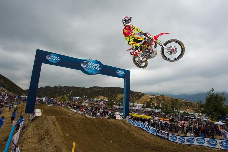 Tomac won at Glen Helen in his first professional start there.Photo: Simon Cudby