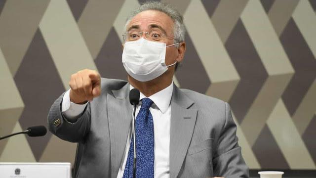 Relatório final da CPI da Covid está 'praticamente pronto', diz Renan