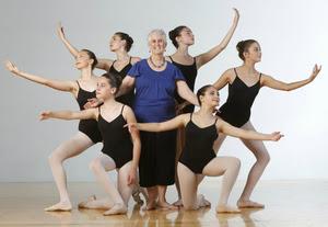 Beth dancers pose
