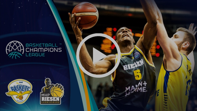 EWE Baskets v MHP Riesen Ludwigsburg - Highlights - RD. of 16 - Basketball Champions League 2017-18