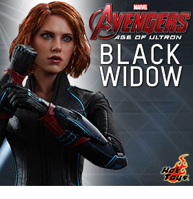 HOT TOYS AGE OF ULTRON BLACK WIDOW