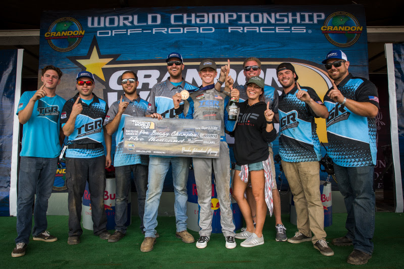 Trey Gibbs, Alumi Craft Pro Buggy, World Champion, TGR Racing, Bink Designs