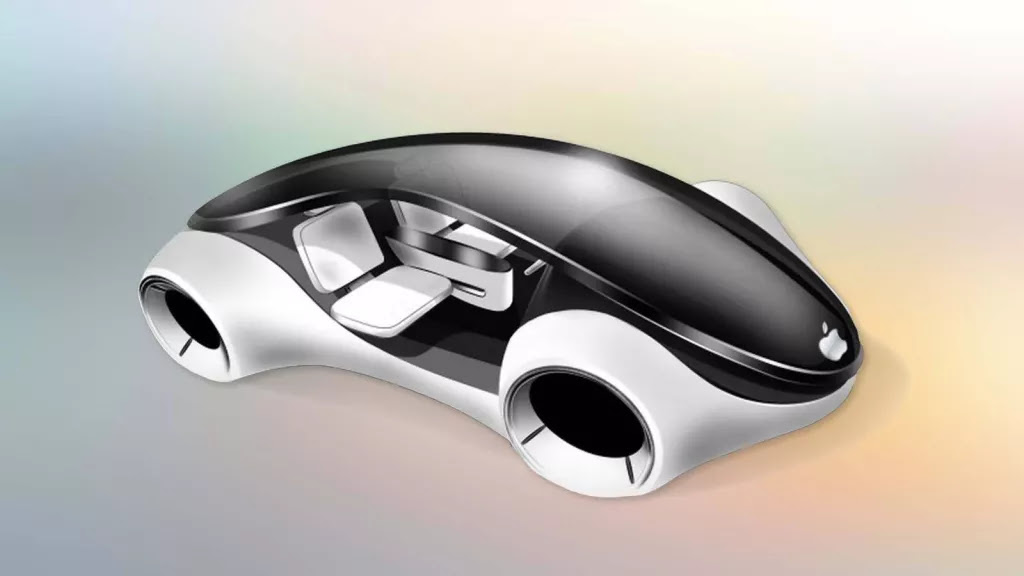 A render of the Apple Car