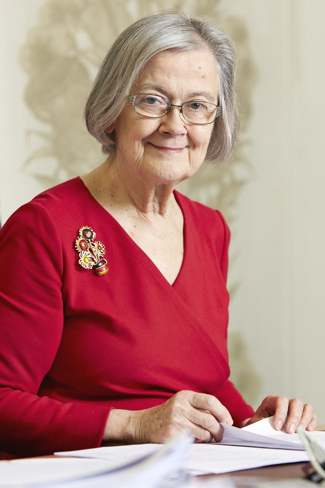 The Right Honourable the Baroness Hale of Richmond DBE, the President of the Supreme Court of the United Kingdom