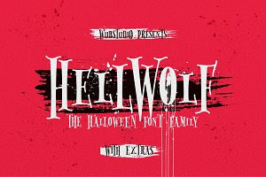 Hellwolf Typeface ( 30% Off )