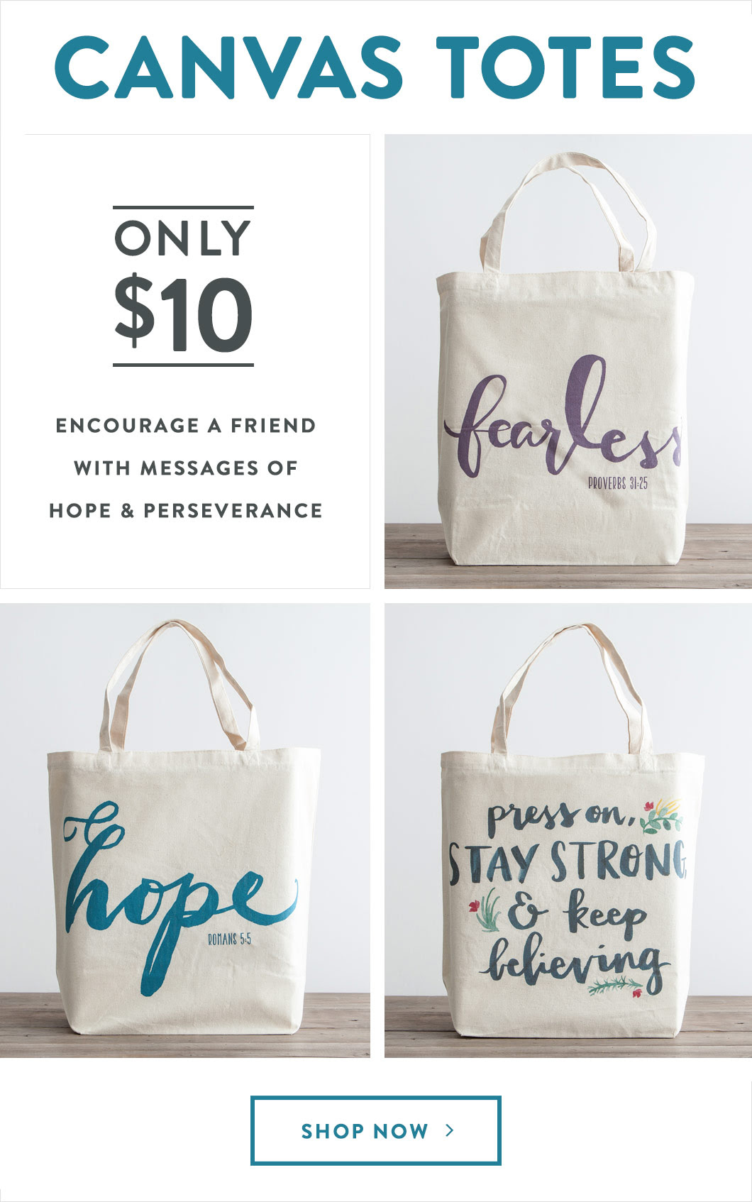 $10 Totes Flash Sale Banner