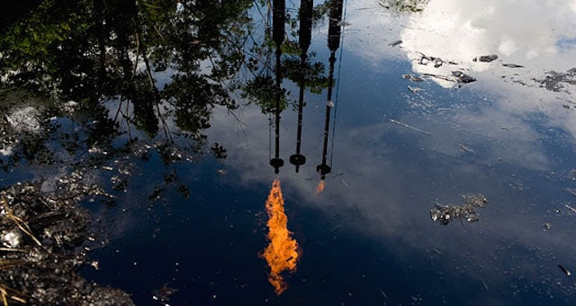 Chevron Oils Spill