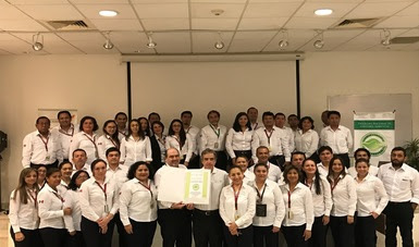 La PROFEPA entregó el Certificado de Calidad Ambiental Turística a la Administración Portuaria Integral de Progreso, S.A. de C.V. (API), en Yucatán.