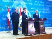 Elmar Brok in Iraq 2