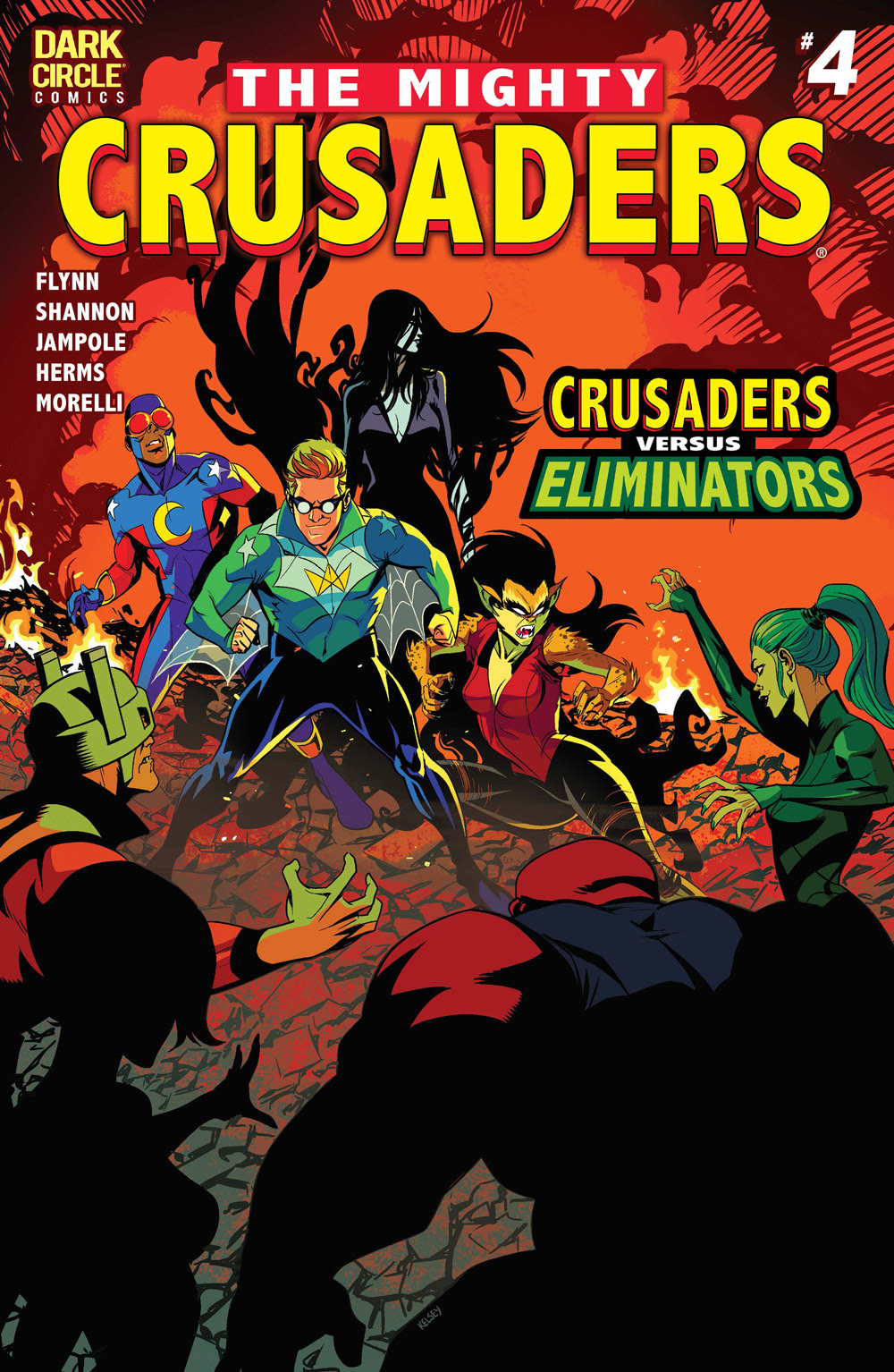 The Mighty Crusaders #4 CVR A: Shannon
