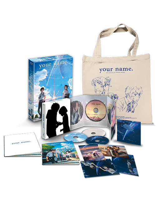 your name. Edición Coleccionista A4 Bluray