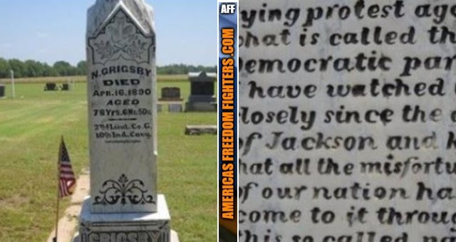 """The 127-Year-Old """"Grave"""" Warning About Democrats That's EERILY Accurate Today"""