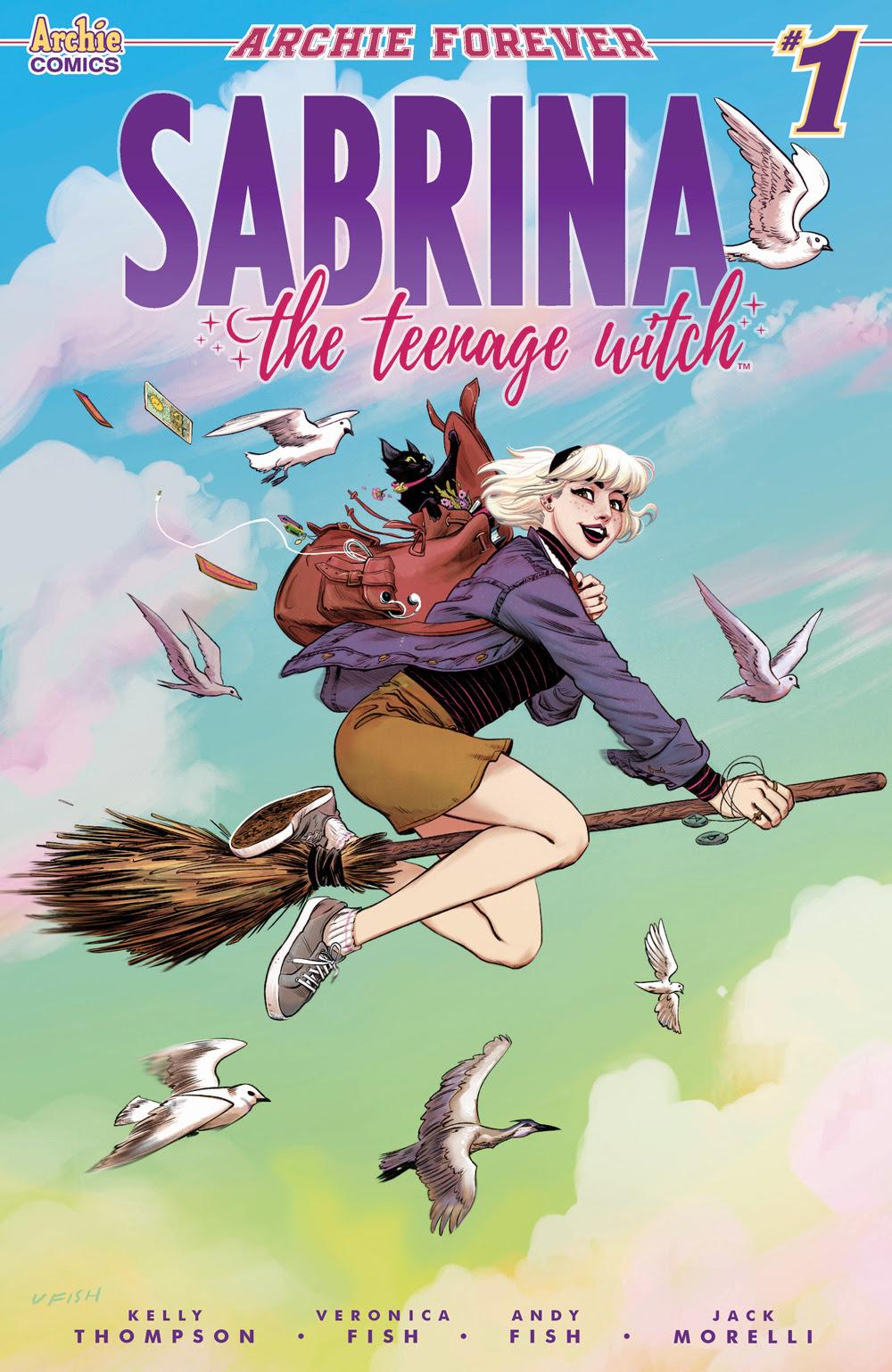 SABRINA THE TEENAGE WITCH #1: CVR A Fish