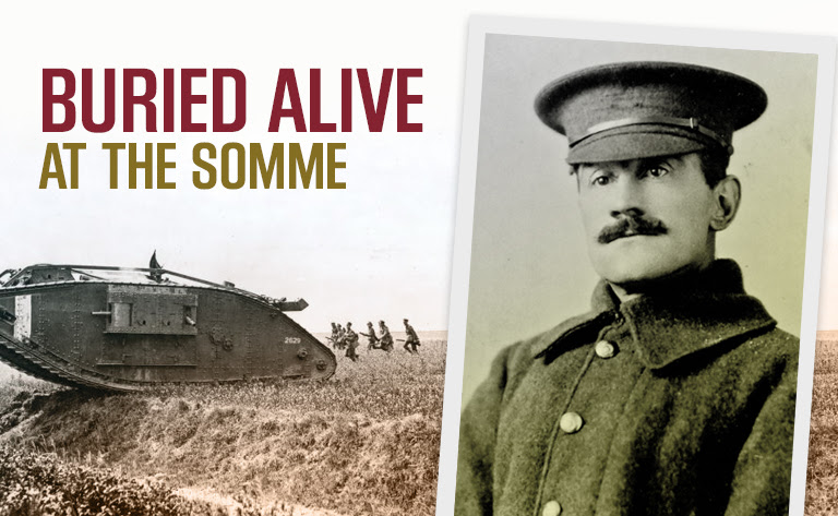 Buried alive at the Somme