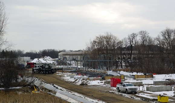 Weekly Construction Photo: Golden Triangle Station in Eden Prairie