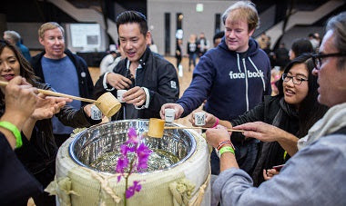 Sake Party – The Best SAKE DAY Ever? B