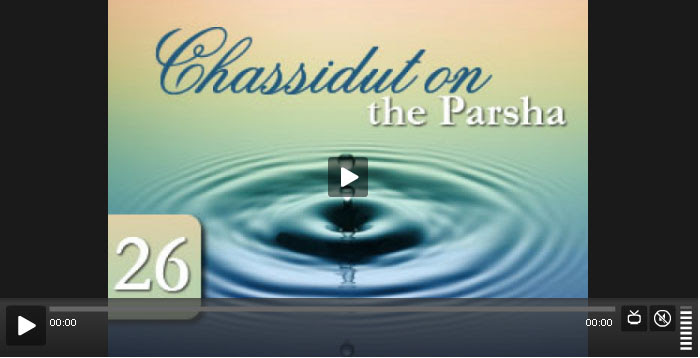 chassidut on the parsha 1