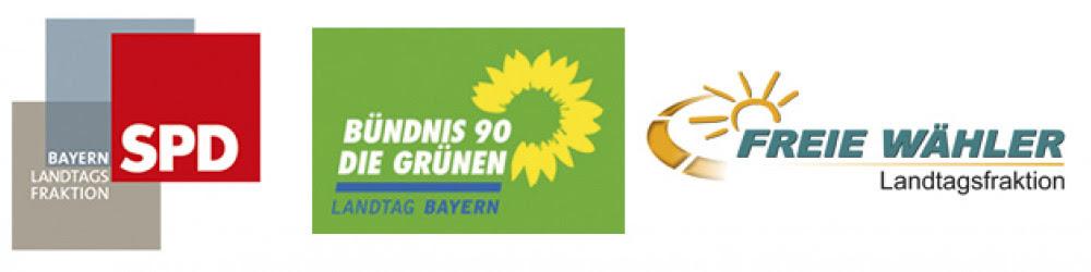 Logos: SPD - Freie - Grüne